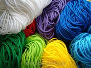 Шнурок текстильный,  тесьма эластичная,  резинка